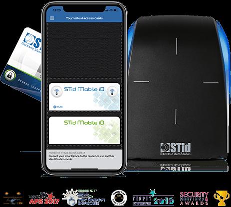 STiD mobile, czytnik BLE, identyfikatory zbliżeniowe RFID